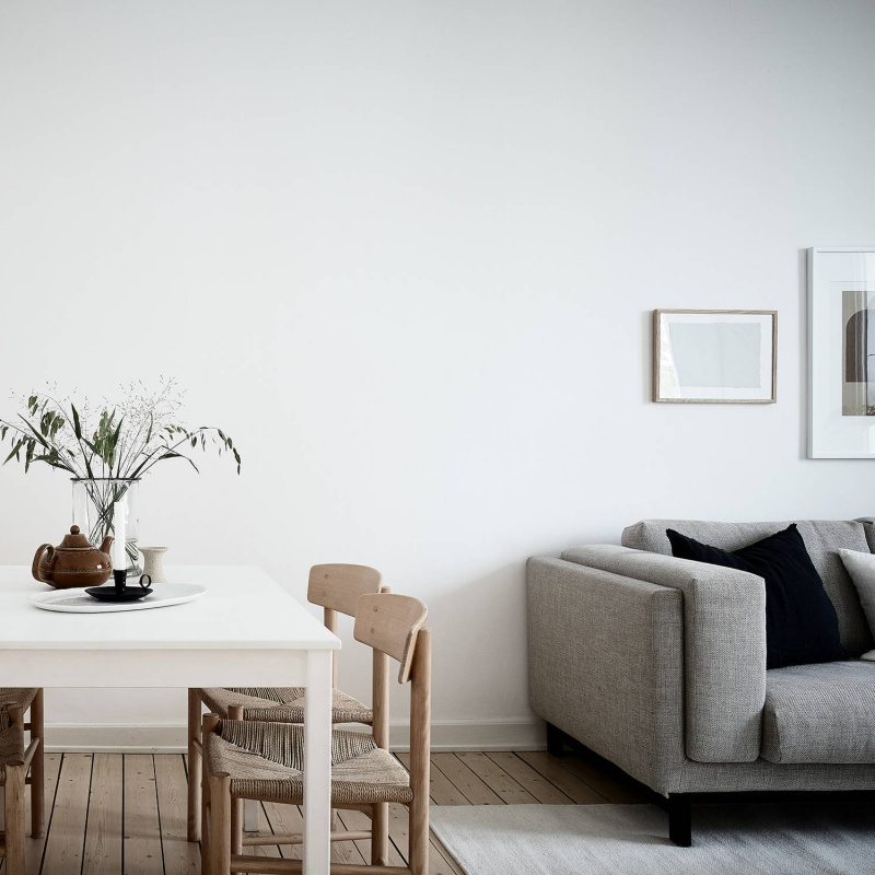 Light and Airy Scandinavian Minimalist Home