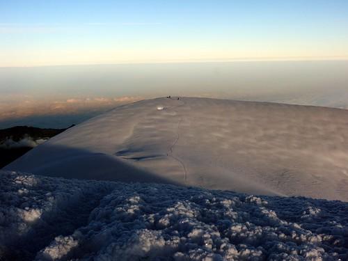 ecuador andes volcanoes chimborazo mountaineering