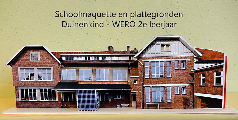 WERO: schoolmaquette en plattegronden