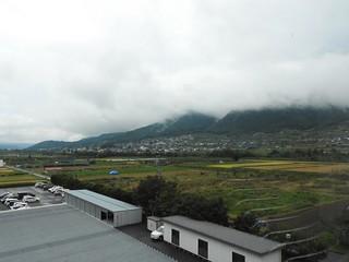長野県北信合同庁舎からの景色 1