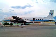 N9498   Douglas DC-7C [45187] (Fire Service) Geneva Int'l-Cointrin~HB 23/07/2004