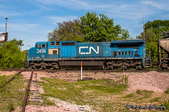 IC 2458 | GE C40-8W | CN Fulton Subdivision