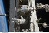 Spacewalkers Richard Arnold and Joseph Acaba