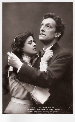 Johnston Forbes-Robertson and Getrude Elliott in The Light That Failed (1903)
