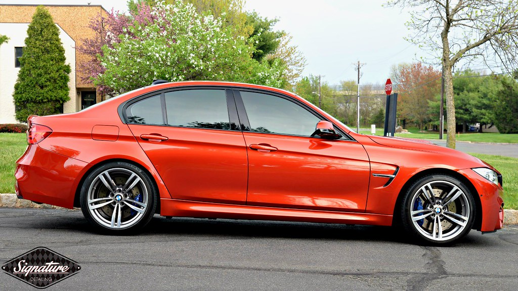 BMW M3 for Xpel Ultimate PPF & Glass Coating at Signature Detailing Hillsborough Township NJ