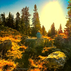 Seeing the light in meditation, both outside and within