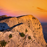 8. Oktoober 2017 - 18:14 - At the top of the Sainte-Victoire mountain..