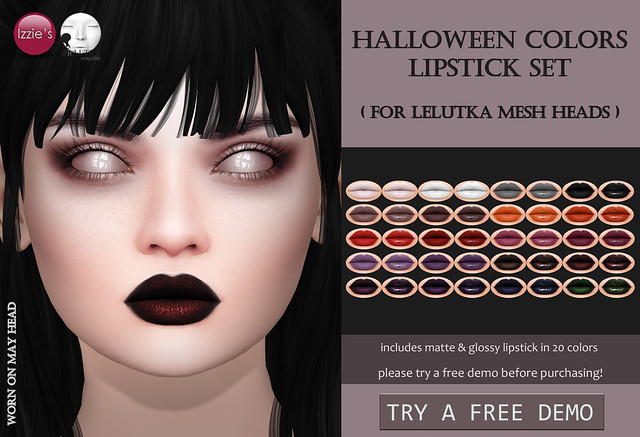 Halloween Colors Lipstick LeLutka for OUAN