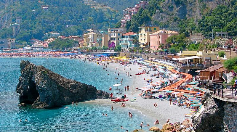Monterosso seaside village Cinque Terre Italy