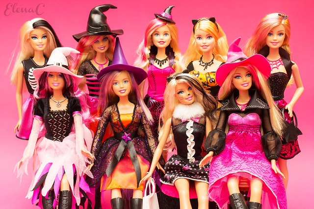 Barbie Halloween Magazine 2007-2017