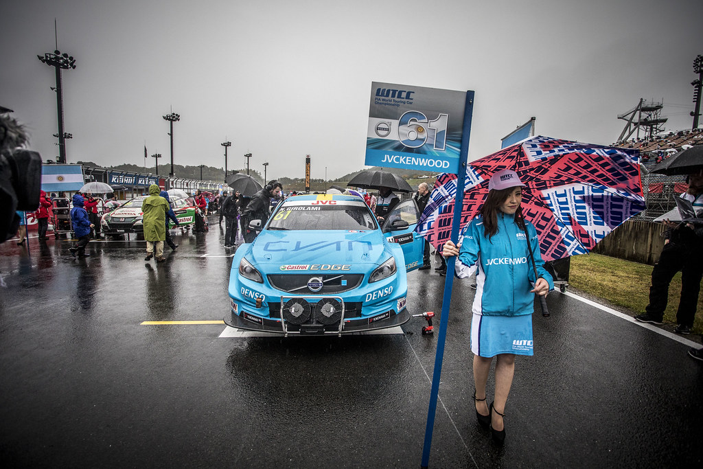 GIROLAMI Nestor (arg) Volvo S60 Polestar team Polestar Cyan Racing ambiance during the 2017 FIA WTCC World Touring Car Championship race at Motegi from october 27 to 29, Japan - Photo Gregory Lenormand / DPPI