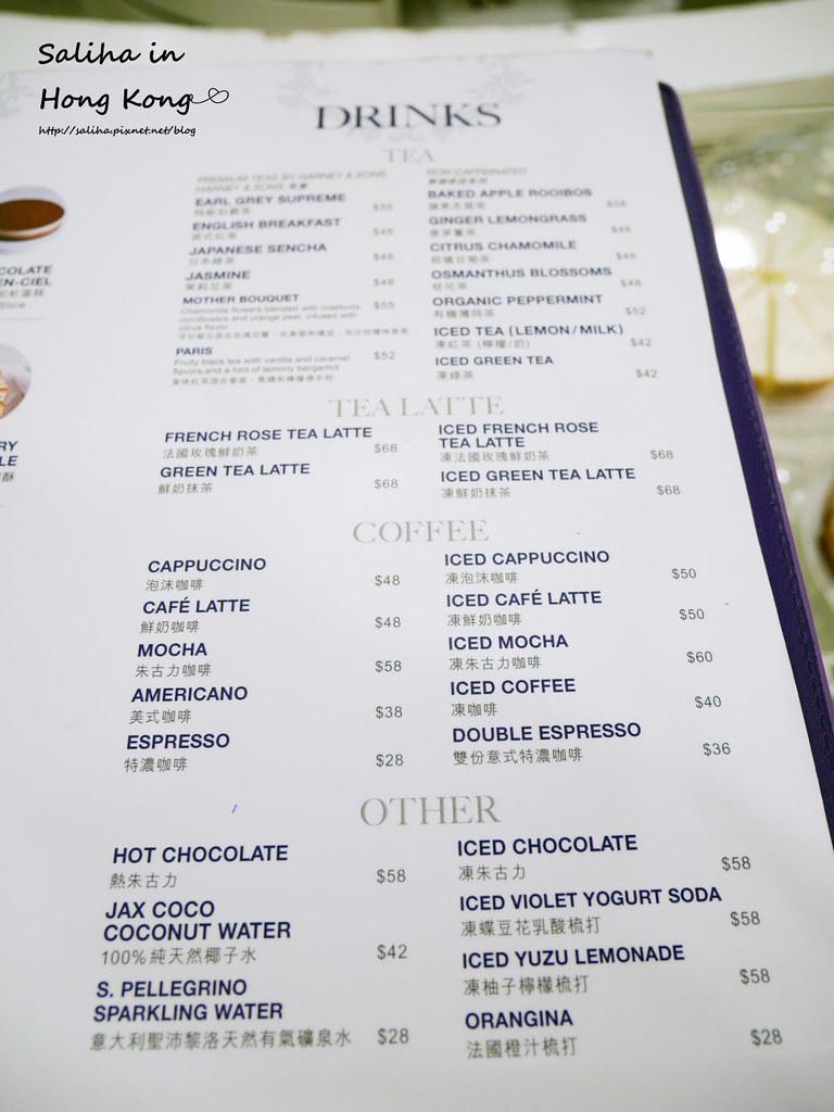 香港lady m分店海港城價位menu下午茶