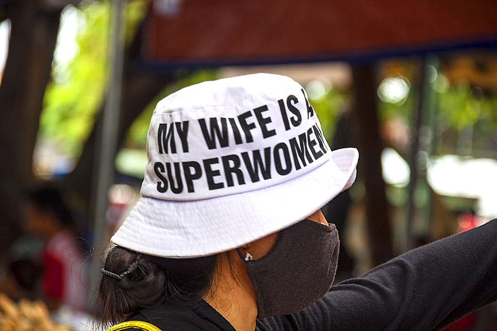 MY WIFE IS A SUPERWOMEN--La Gi