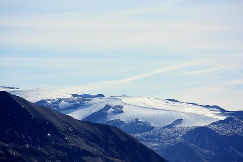 Le triste glacier des 2 Alpes