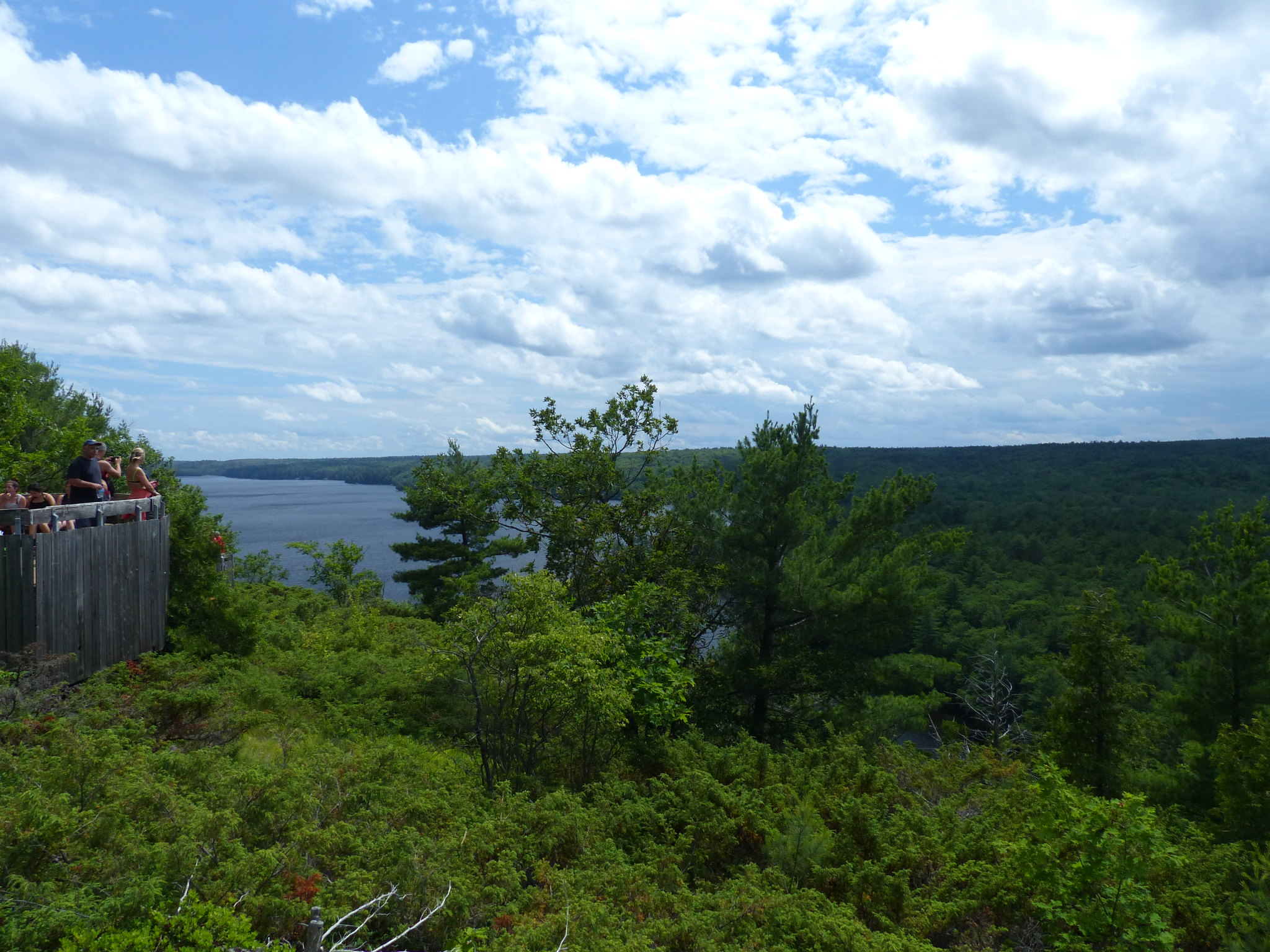 Bon Echo Provincial Park view from Mazinaw Rock