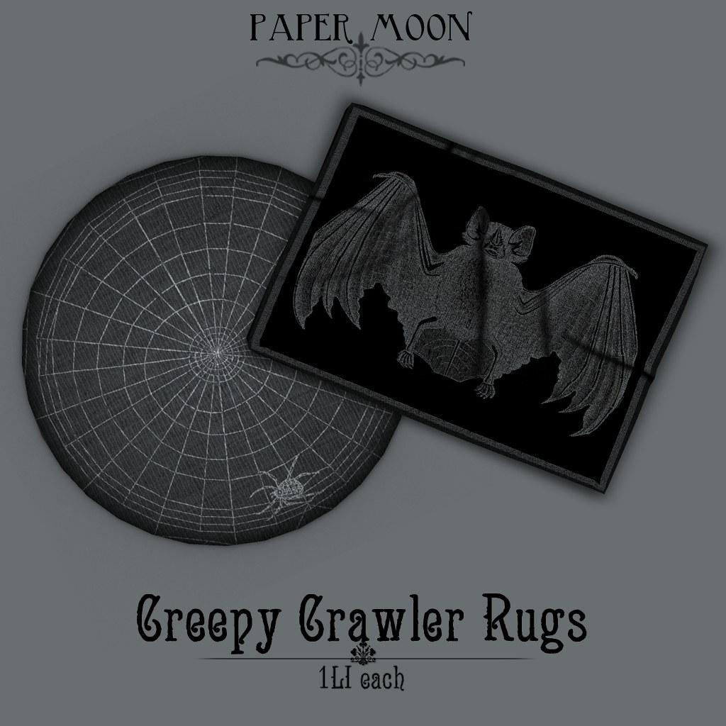 *pm* Creepy Crawler Rugs poster