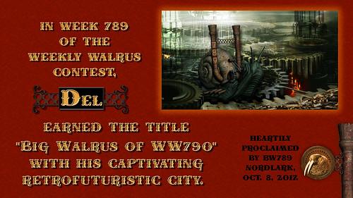WW789 Certificate for Del