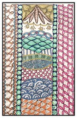 Tangles Galore - Zentangle - #46