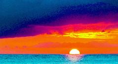 Hawaiian Sunset In Abstract - Image 500
