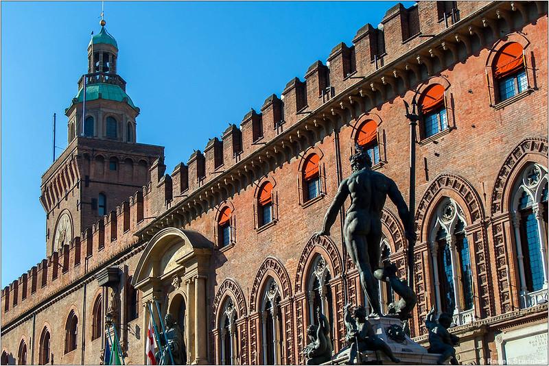 Palazzo D'Accursio w Bolonii