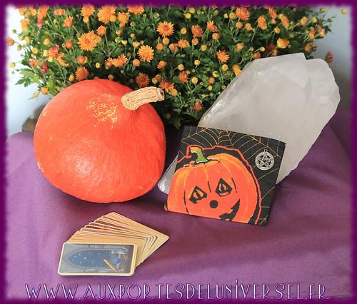 Nouveauté pour samhain sur la boutique ésotérique Aux Portes de l'Universel