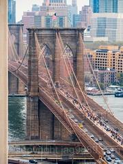Brooklyn Bridge over the East River, Manhattan-Brooklyn, New York City
