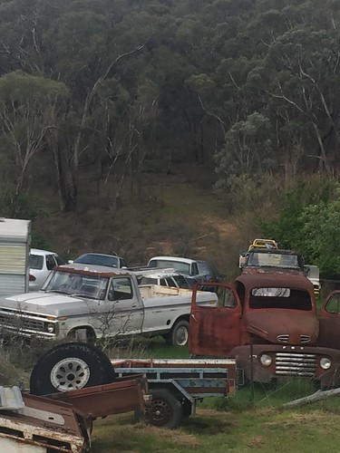 FORD Oldies at Trunkey Creek NSW