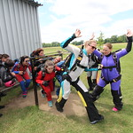 Practice On The Ground Before Making The Actual Skydive