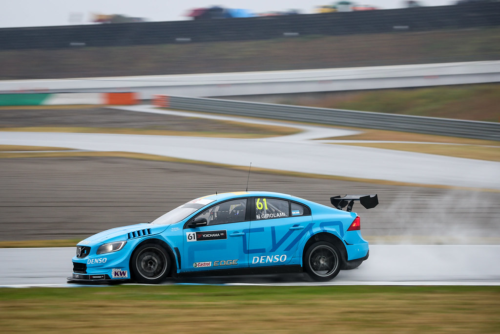 61 GIROLAMI Nestor (arg) Volvo S60 Polestar team Polestar Cyan Racing action during the 2017 FIA WTCC World Touring Car Championship race at Motegi from october 27 to 29, Japan - Photo Alexandre Guillaumot / DPPI