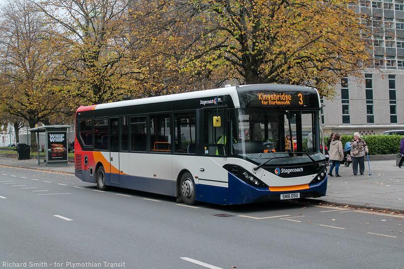 Stagecoach Devon 37444 SN16OSU`