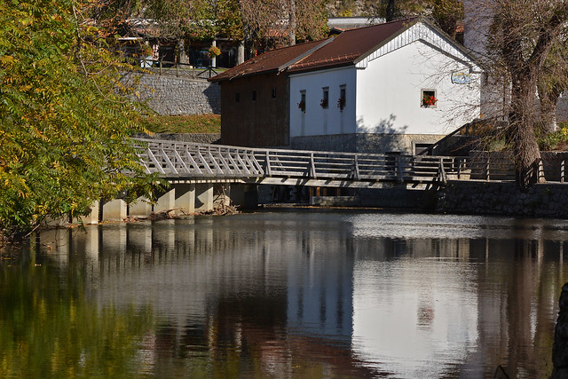 Water mill at Postojna