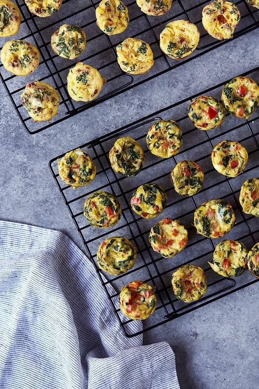 Mini Frittata Egg Bites {gluten-free, paleo, keto, whole30}