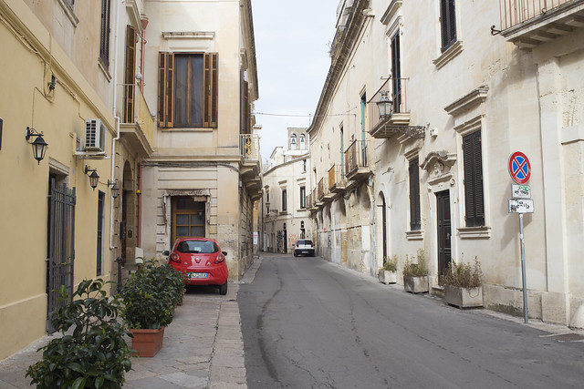 Street in Lecce