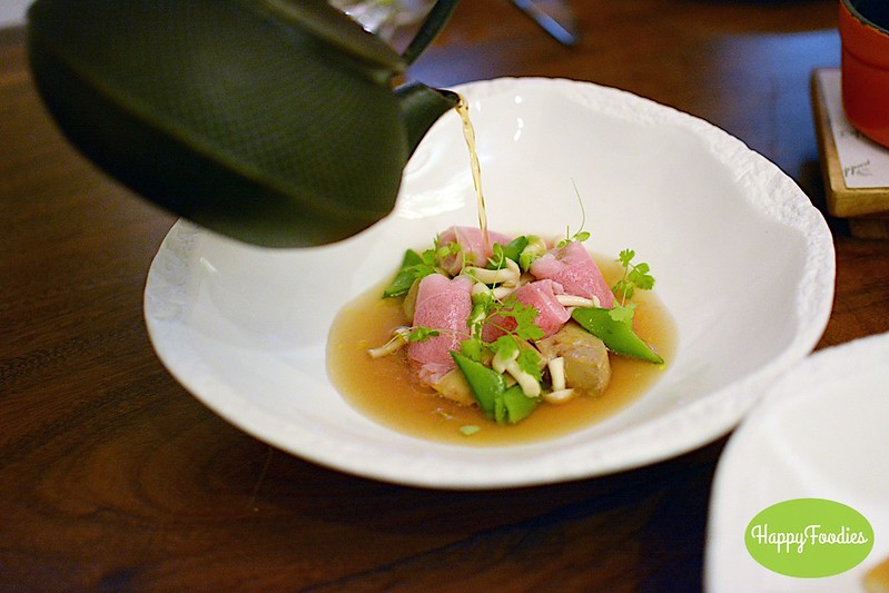 Wagyu ribbons and foi gras