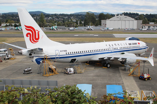 Boeing 737 MAX 8 Air China N1796B LN6508