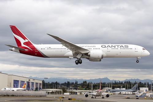 Qantas Boeing 787-9 VH-ZNA