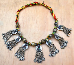 Afghan-Kuchi-Coin-Pendants-Necklace-Ethnic-Bohemian-Boho-Dance-Tribal-Jewelry