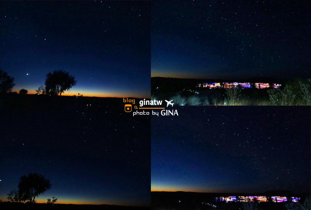 澳洲北領地烏魯魯》Uluru烏魯魯 艾爾斯岩 好美好冷的日出原野燈光展之旅 @Gina環球旅行生活
