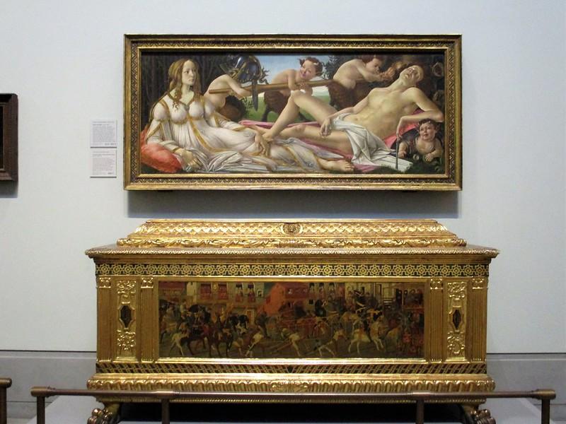 Venus & Mars, Botticelli