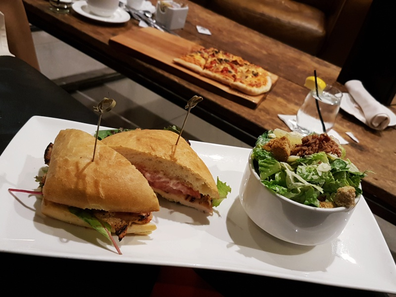 1 King West club sandwich