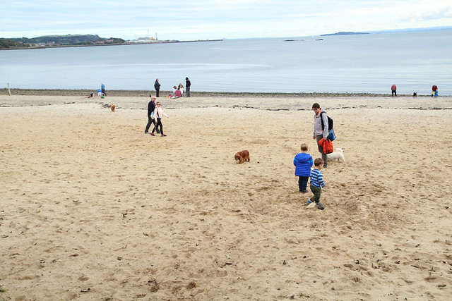 Aberdour Silversands beach