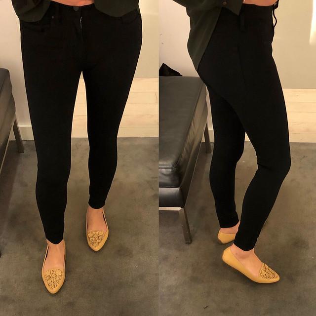 Ann Taylor Ponte Skinny Pants, size 00P