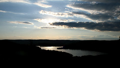 lake waramaug - viewed from waramaug's rock