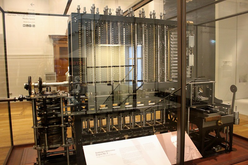Babbage's Difference Engine Number 2, Science Museum, London