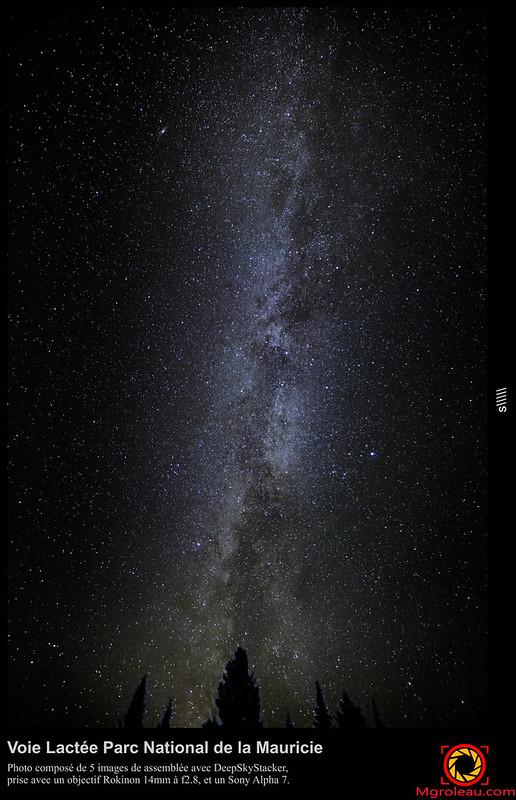 Voie Lactée Parc National de la Mauricie