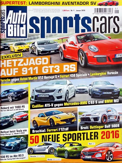 Auto Bild Sportscars 1/2016