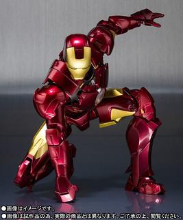 可以吃甜甜圈也太讚了吧~~S.H.Figuarts 鋼鐵人2【鋼鐵人馬克4】アイアンマン マーク4 Iron Man Mark IV