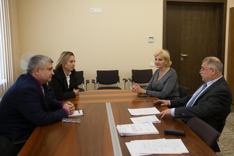 Сотрудничество с Парламентом РМ