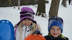 Interviewing The Kids After Sledding