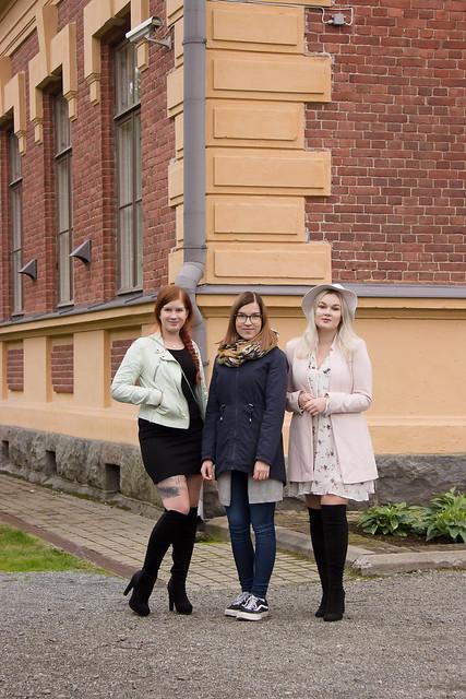 Bloggaajat Syksy 2017 OOTD My Style Bikerjacket Ellos nahkatakki Ellokselta mintunvärinen rotsi bloggaajat Pohjois- Karjala Joensuu taidemuseo outfits style bloggers